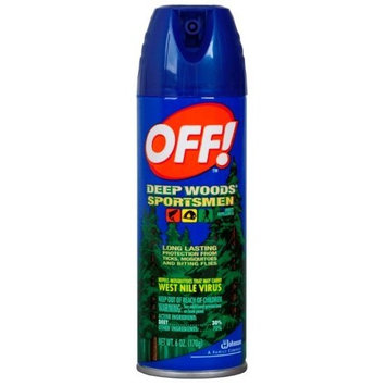 Off! Deep Woods Sportsmen 6-Ounce Cans (Pack of 12)