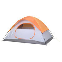 Embark Red 2 Person Dome Tent - 4'6