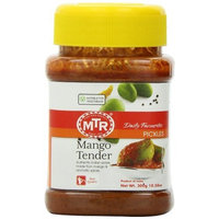 MTR Mango Tender Pickle, 10.56-Ounce Plastic Bottles (Pack of 8)