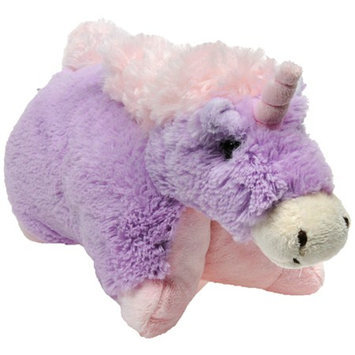 Pillow Pets Pee-Wees 11 Inch Folding Stuffed Animal - Magical Unicorn