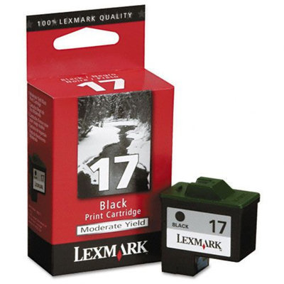 Kmart.com Lexmark 10N0217 Inkjet Cartridge, Moderate-Yield, Black