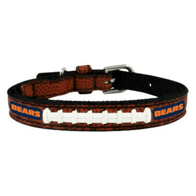 GameWear Chicago Bears Classic Leather Toy Football Collar
