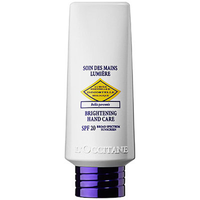 L'Occitane Immortelle Brightening Hand Care Broad Spectrum SPF 20 Sunscreen 2.6 oz