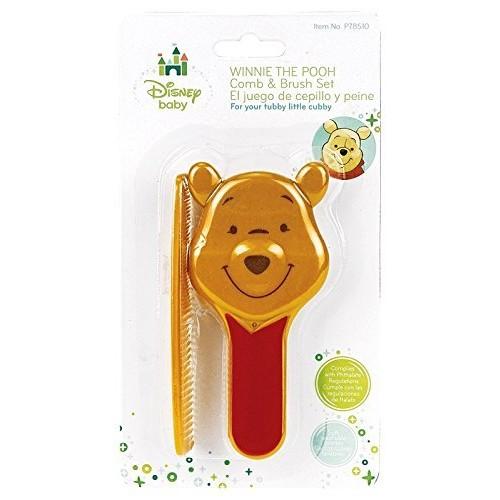 Disney Winnie The Pooh Sculpted Comb & Brush Set