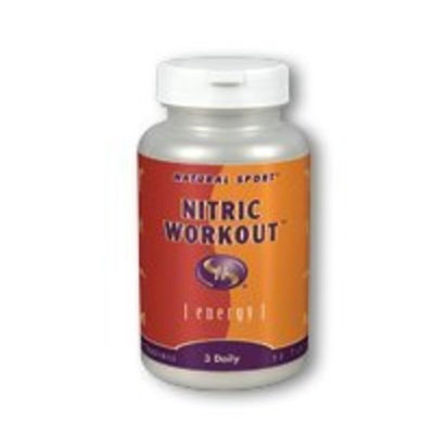 Natural Sport Nitric Workout Veg Capsules, 90 Count