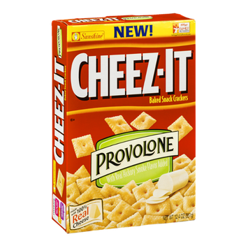 Cheez-It Baked Snack Crackers Provolone