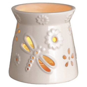 Westinghouse Wax Free Warmer Set-2 Extra Fragrance Disks included - Cream Flower