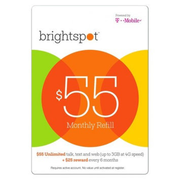 Interactive Communication brightspot $55 Prepaid Card