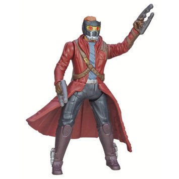 GUARDIANS OF THE GAL Marvel Guardians Of The Galaxy Galactic Battlers Star-Lord Action Figure