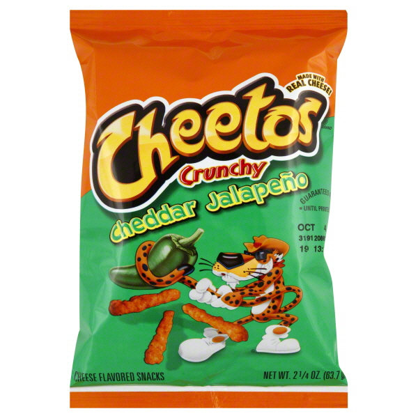 Shop Cheetos 3 25 Oz Cheetos Cheese Puffs At Lowes Com: CHEETOS® Crunchy Cheddar Jalapeno Cheese Flavored Snacks