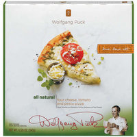 Wolfgang Puck: Four Cheese Tomato & Pesto Pizza, 12.25 Oz