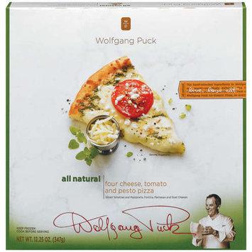 Wolfgang Puck: Four Cheese Tomato & Pesto Pizza, 12.25 Oz
