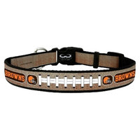 GameWear Cleveland Browns Reflective Large Football Collar
