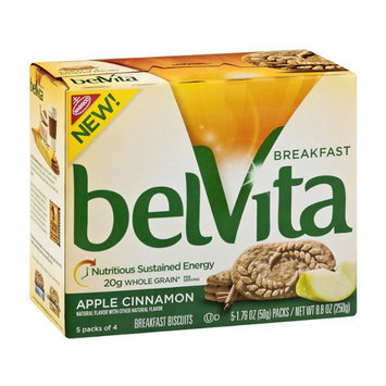 Nabisco belvita Breakfast Biscuits Apple Cinnamon