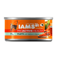 Iams™ Proactive Health™ Filets Adult Wet Cat Food with Salmon in Sauce