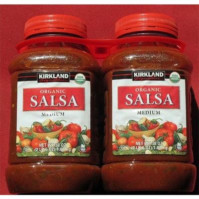 Kirkland Signature Organic Salsa, Medium, 1.08 kg (Pack of 2)