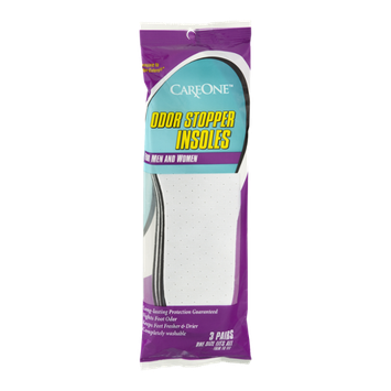 CareOne Odor Stopper Insoles Men and Women