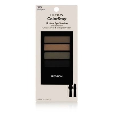 Revlon ColorStay 350 Berry Bloom 12 Hour Eye Shadow, 0.16 Ounces (Pack of 2)