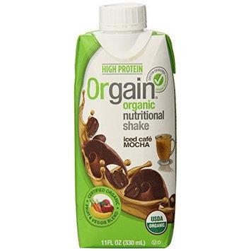 Orgain Iced Caf Mocha, 11-Ounce (Pack of 12)