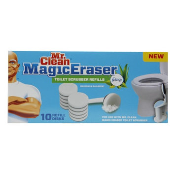 Mr. Clean Magic Eraser Toilet Scrubber Refills, 10 ea