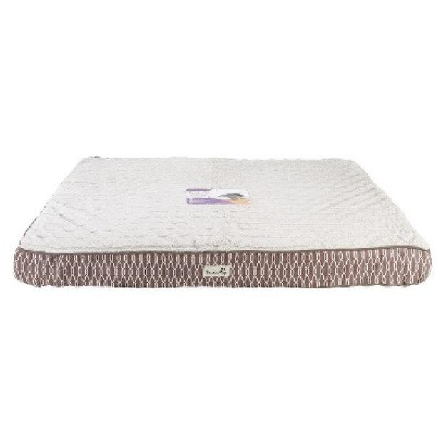 trustypup tendercare therapeutic foam pet bed - desert (large) reviews