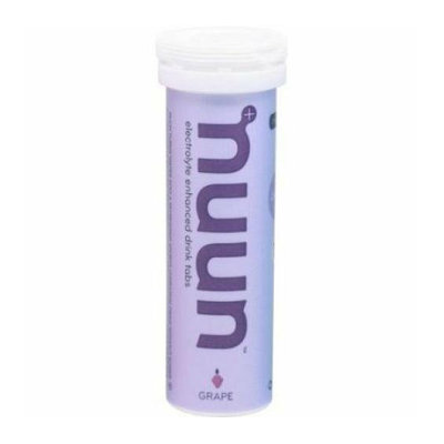 Nuun Hydration Tablets and Water Bottle Grape Case of 8 20 oz