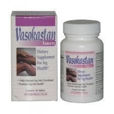 Newpharma Vasokastan Dietary Supplement Tablets For Leg Health - 60 Caps