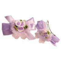 Smoothies Rosettes Barrettes-Lavender 00798