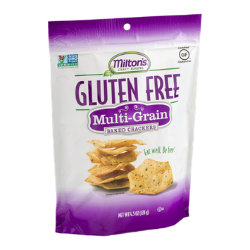 Milton's Craft Bakers Gluten Free Baked Crackers Multi-Grain