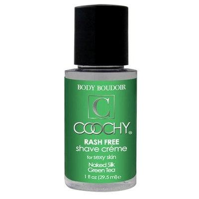 Classic Erotica Coochy Rash Free Body Shave Creme Green Tea 1 Ounce