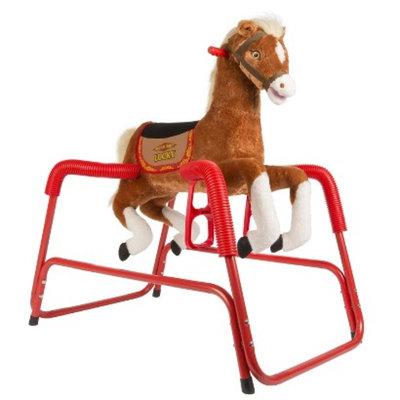 Tek Nek Rockin' Rider Lucky Deluxe Talking Plush Spring Horse -