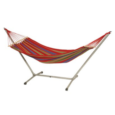 Byer Manufacturing Aruba Hammock and Stand Set - Red
