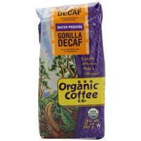 The Organic Coffee Company The Organic Coffee Co. Ground, Decaf Gorilla, 12 Ounce (Pack of 2)