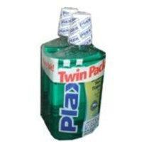 Plax Soft Mint Flavor Mouthwash 32 Ounce Bottle (Pack of 2)