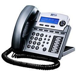 XBLUE X16 6-Line Small Office Digital Telephone, Titanium Metallic