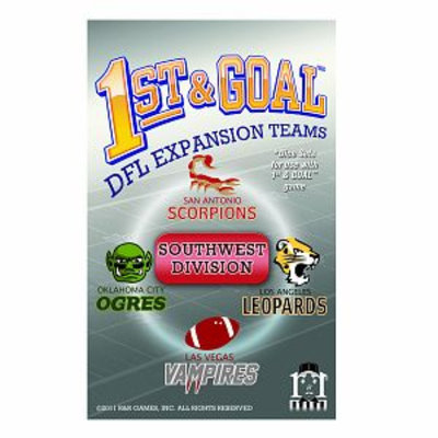 R and R Games 1st & Goal Expansion #6 - Southwest Division, 1 ea