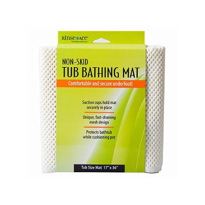 Rinse Ace Non-Skid Tub Bathing Mat