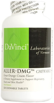 DaVinci Laboratories Aller-DMG Orange 120 Chewable Tablets
