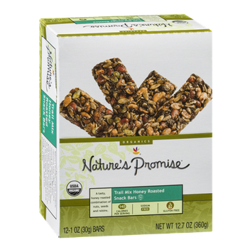 Nature's Promise Trail Mix Honey Roasted Snack Bars - 12 CT