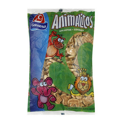Gamesa Animal Cookies