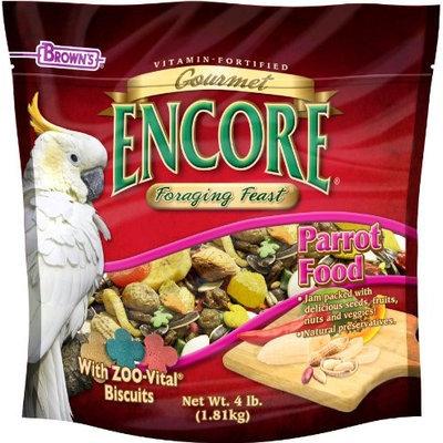 Brown's Encore Gourmet Foraging Feast Parrot Food, 4 lbs.