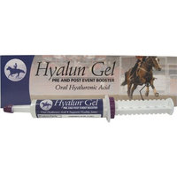 Durvet Hyalogic Hyalun Gel 1-Ounce Pre and Post Event Booster Equine Joint Supplement for Horse