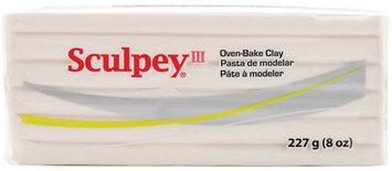 Polyform 439310 Sculpey III Polymer Clay 8 Ounces-Translucent