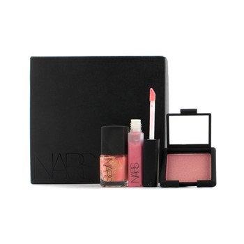Rs Yorokobi Set (Mini Blush Mini Lip Gloss Nail Polish) - 3pcs