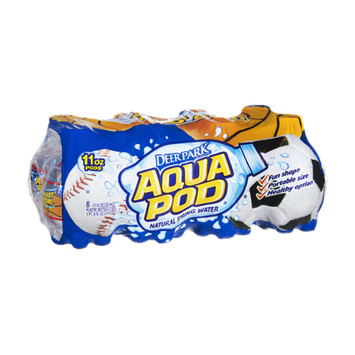 Deer Park Aqua Pod Natural Spring Water- 8 PK