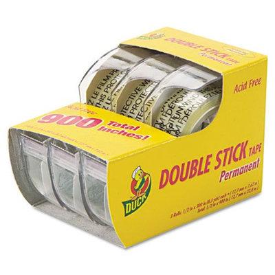 Duck DUC0021087 Permanent Double-Stick Tape, 1/2