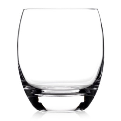 Luigi Bormioli SON.hyx Crescendo Double Old-Fashioned Glasses Set of 4