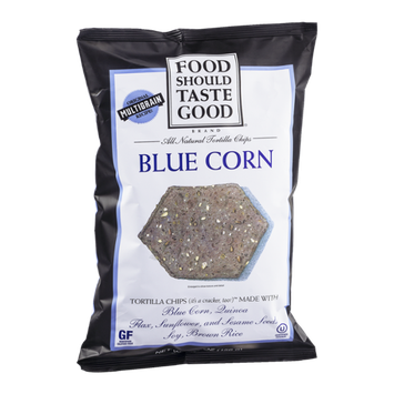 Food Should Taste Good All Natural Tortilla Chips Blue Corn
