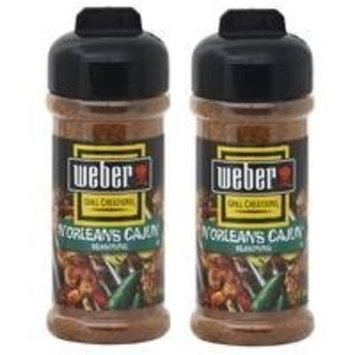 Weber N'Orleans Cajun Seasoning (5.75 oz) 2 Pack