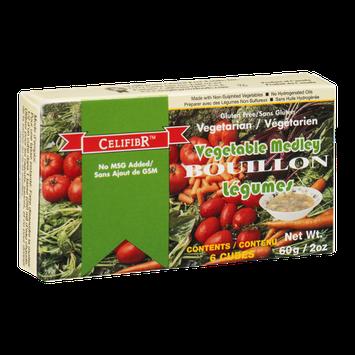 CelifibR Vegetable Medley Bouillon - 6 CT